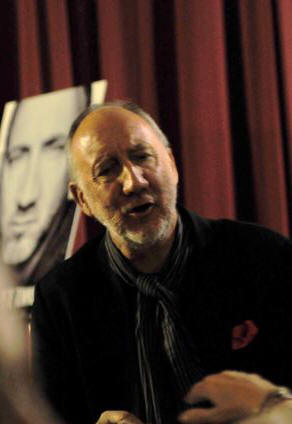 Pete Townshend - University of Pennsylvania Museum of Archaeology and Anthropology - Philadelphia, PA - October 10, 2012 - photo by Jim Rinaldi � 2012